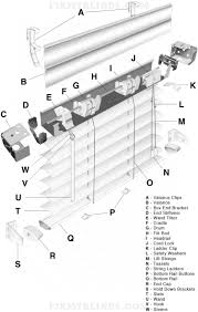 46 best blind repair diagrams u0026 visuals images on pinterest