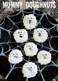 Quick Halloween Party Ideas by Mummy Doughnuts Plain Chicken