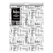 beatles wrapping paper beatles merchandise store beatles gift wrap