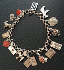 chain link bracelet charms images 52 best charm bracelets states and countries images jpg