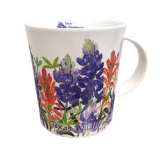 Peacock Mug Texas Wildflowers U003edunoon Mugs U003e British Isles