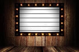 light box light bulbs vintage message board with light box and light bulb stock photo