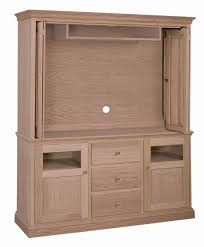 Bifold Closet Door Hinges Cherry Shaker Style Armoire Custom Handmade Entertainment Center