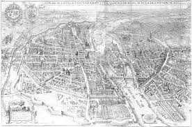 Map Of The French Quarter In New Orleans by Paris In The 17th Century Wikipedia