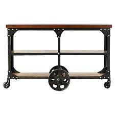 Wildon Home Console Table Wheeled Console Table U2013 Launchwith Me