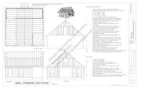 a frame blueprints free sle barn workshop plans g314 36 x 36 10 barn