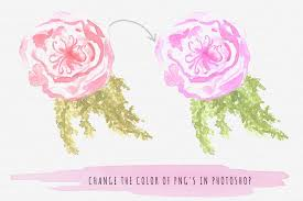 how to change the color of png u0027s in photoshop the smell of roses