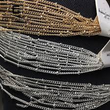 diy bead chain bracelet images Gufeather c07 diy chain beads chain bracelet anklet necklace jpg