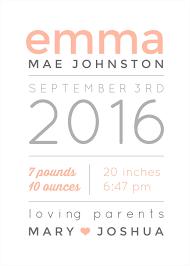 make a personalized baby gift with newborn stats picmonkey