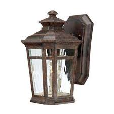 wall mounted lantern lights outdoor wall mounted lighting the home depot pertaining to lantern