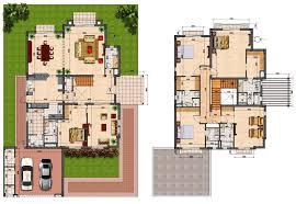 villa floor plans pics photos villa plans maison villa plan and villas