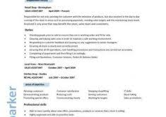 Retail Assistant Resume Example by Clever Design Ideas Retail Resume Skills 7 Sales Assistant Cv