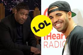 denzel washington reacted to drake u0027s tattoo of him and it was
