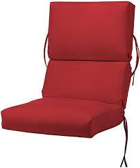 High Back Patio Chair Cushion Valuable Design High Back Patio Chair Cushions Bullnose High