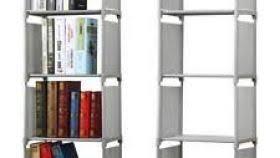 Tiered Bookshelf Open Tiered Bookcase Ldnmen Com