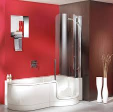 Bathtubs And Showers For Small Spaces Twinline Showers Modern Tub Shower For Small Space From Artweger