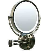 best lighted magnifying makeup mirror wall mounted magnifying makeup mirror 10x target best lighted mirror