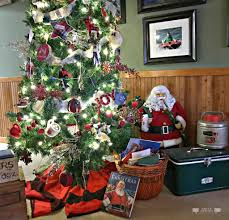 holiday home tour blog hop christmas at the cabin