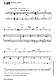 sandu piano accompaniment sheet for piano and more