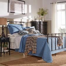 Vintage King Bed Frame Homesullivan Byer White King Bed Frame 40e422bk 1wbed The Home Depot