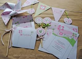 make your own baby shower invitations free printables template