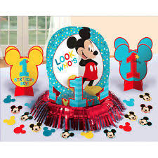 mickey mouse centerpieces baby mickey mouse 1st birthday party table decoration kit