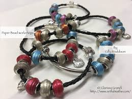 european style bracelet beads images European style paper beads workshop success fun crafts to do at home jpg