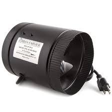 air duct assist fan amazon com urban farmer 6 inch inline duct booster fan 240 cfm