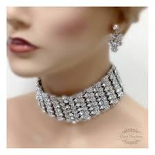 vintage crystal choker necklace images 54 crystal choker necklaces the 25 best delicate necklaces ideas jpg