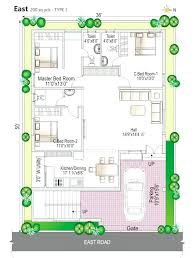 Duplex Floor Plan Duplex House Plan And Elevation 2741 Sq Ft Home Appliance Ground