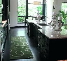 Lime Green Kitchen Rug Fancy Green Kitchen Mat Large Kitchen Mats Memory Foam Kitchen Rug