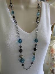chain beaded necklace images 56 black beaded chain black beaded chain choker stargaze jewelry jpg