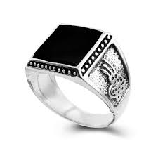 aliexpress buy 2017 new arrival mens ring fashion 2017 new arrival fashion men square enamel rings black retro rings