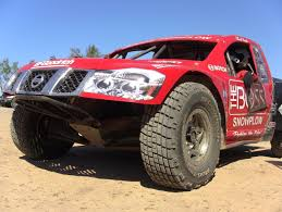 nissan frontier off road bumper nissan torc pro driver chad hord on jumping short course race