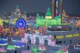 harbin snow and ice festival 2017 the 2017 harbin ice festival in china creates entire city out of ice