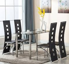 Glass Dining Room Table And Chairs Dining Room Beautiful Modern Dining Table Glass For Tables White