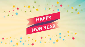 new year happy new year and best wishes for success in 2018