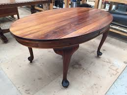 antique dining table restoration tane furniture