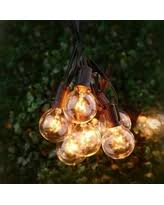 Plastic Globe String Lights Don U0027t Miss This Deal Moonrays Plug In Plastic Globe String Lights