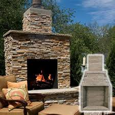 Discount Outdoor Fireplaces - best 25 outdoor wood burning fireplace ideas on pinterest wood