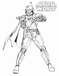 fett coloring pages