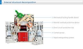 main switch circuit breakers residual current circuit breaker rccb