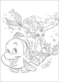 ariel and her friends coloring page free printable coloring pages