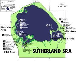 Nebraska On A Map Sutherland Reservoir Sra