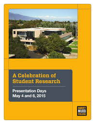 harvey mudd presentation days program 2015 by harvey mudd college