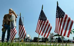 Indiana Flags At Half Staff Six Us States Move To Arm National Guard Offices Al Jazeera America