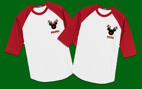 christmas shirts disney christmas reindeer family vacation raglan t shirts the