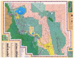 Blank California Map by Gentry Off Road California Inyo National Forest Laurel Lakes