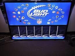 bud light light up sign l k bud light beer nfl football dry erase drink menu specials