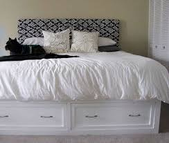 Diy King Platform Bed With Drawers by 98 Best Bedroom Diy Storage Bed U0026 Headboard Images On Pinterest